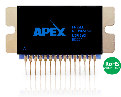 High precision linear power amplifier from Apex Microtechnology